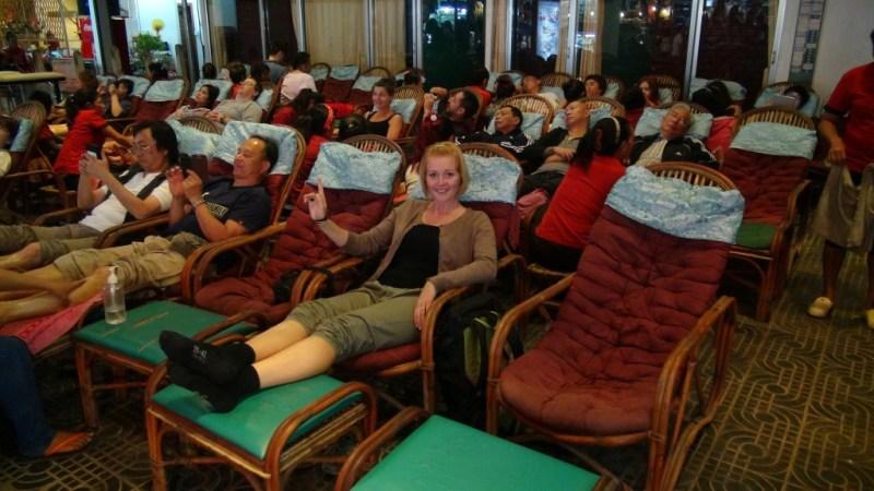 Fod massage Siem Reap