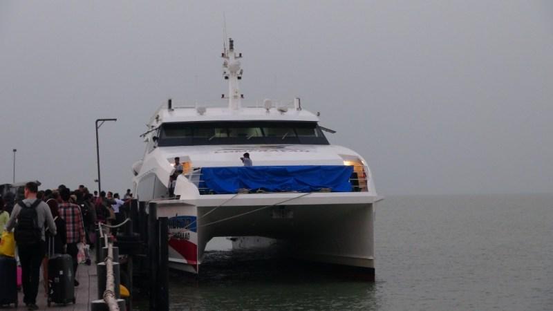 Chumpon, koh tao ferry, thailand
