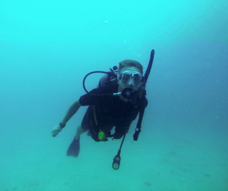 Dykning på Koh Tao, Thailand