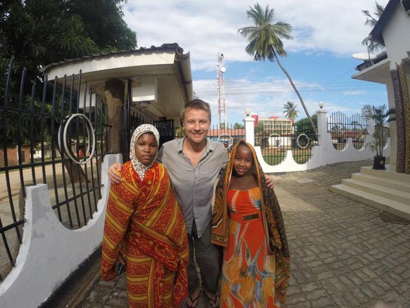 Billede med fremmede piger, Tanzania, Mtwara