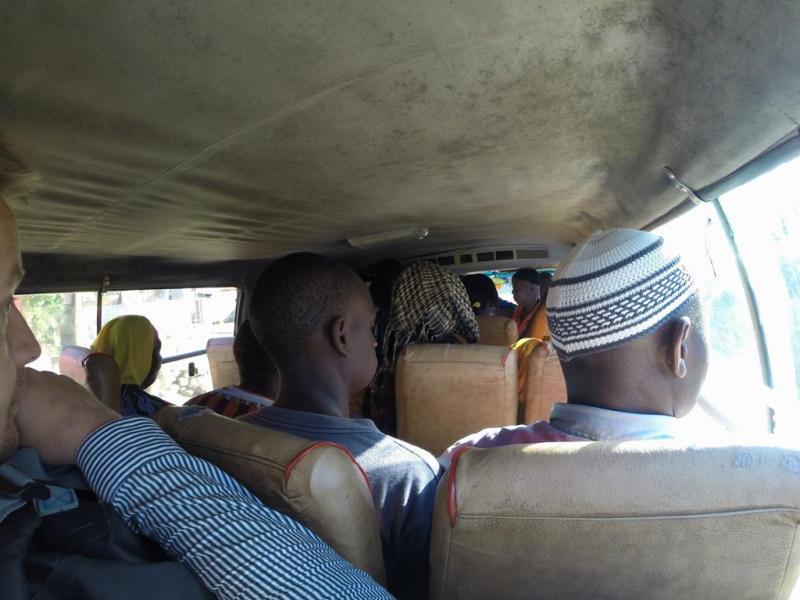 Bus Mtwara - Rovuma river