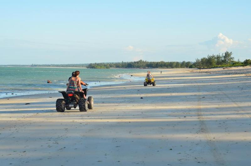 nZuwa Lodge, atv, pemba, Mozambique
