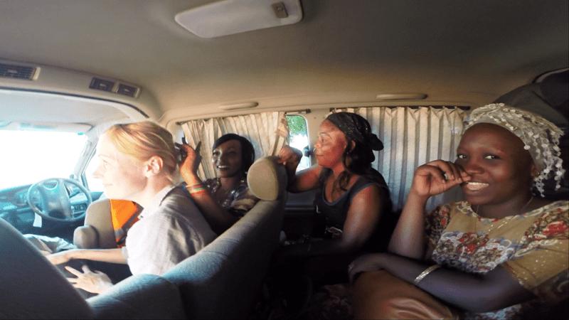 Mozambique, privat chaufør