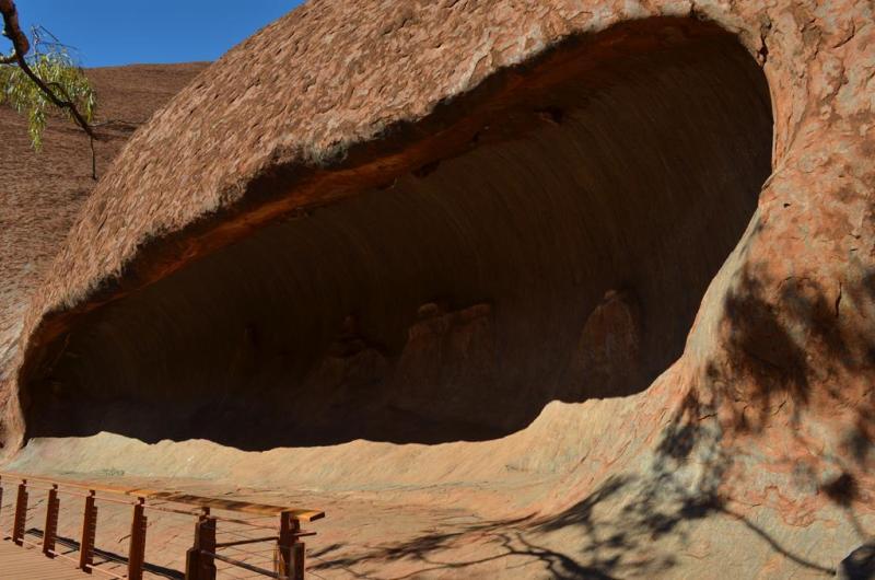 Gå tur rundt om Uluru