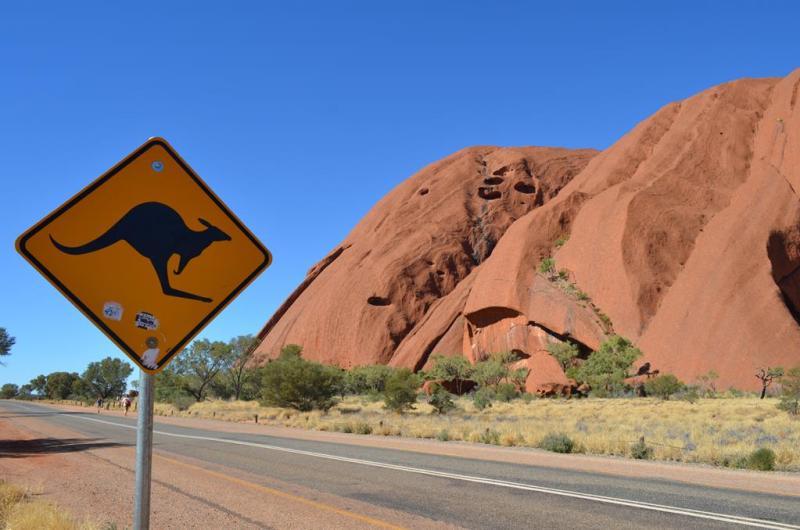 Det bliver vidst ikke meget mere Australsk end dette billede!