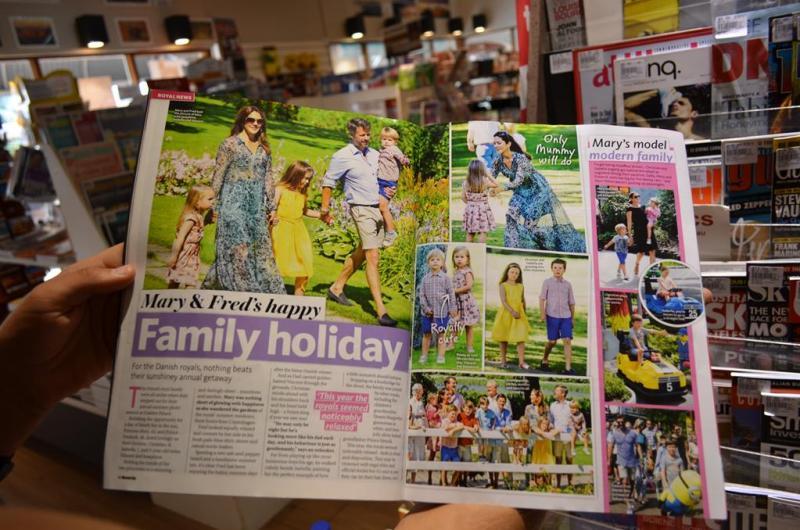 De er helt vilde med Frede og Mary i Australien.