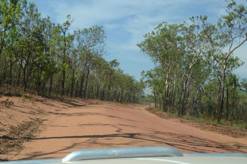 Det bliver ikke mere outback, end det her!