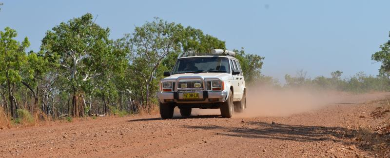 outback, australien, 4x4, jeep