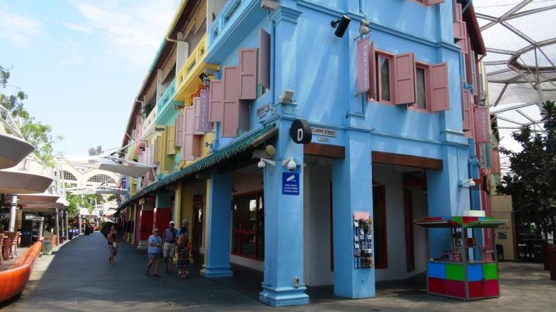 Det farverige Clarke Quay