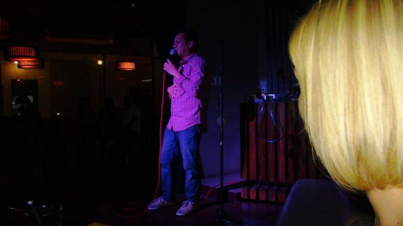 """Stand-up show på """"the Keg"""""""