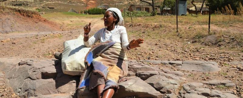 Lesotho Woman