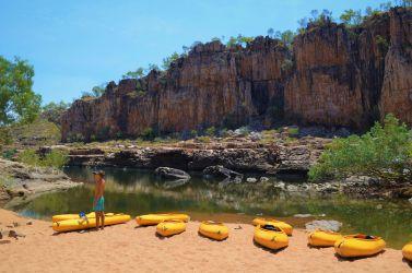 Australien, outback, katherine national park, kajaker, kayaks