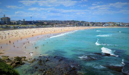 australien, sydney, bondi beach, strand