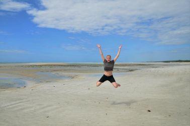 Det er altid dejligt at komme til stranden, men denne dag var jeg ekstra glad.. Åbenbart!