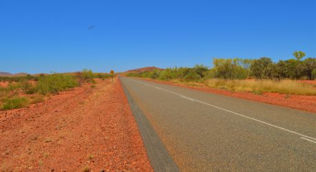 Australien, outback, rødt sand, red dirt