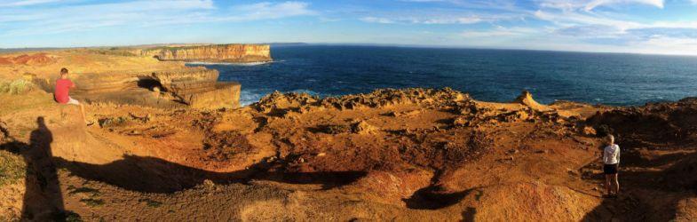 Australien, vest kyst, vand, klipper