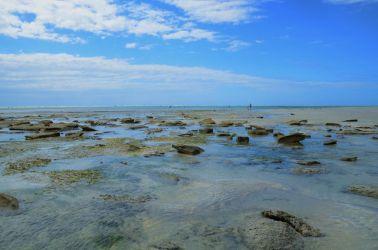 Udsigten til tyrkis blå vand og en næsten skyfri himmel, var hverdags kost mens vi var på nZuwa Lodge