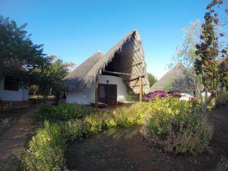 Vores bungalow på Arti lodge