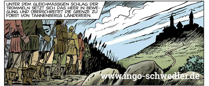 Korwin - Das gute siegt! | Zeichnung Michael Götze | Koloration Ingo Schwedler