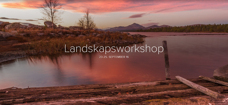 Workshop i landskapsfoto