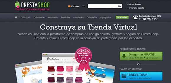crear tiendas on line prestashop