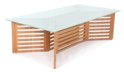 The Niel coffee table made with sustainable bamboo plywood
