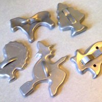 Crazy For Vintage Aluminum Cookie Cutters