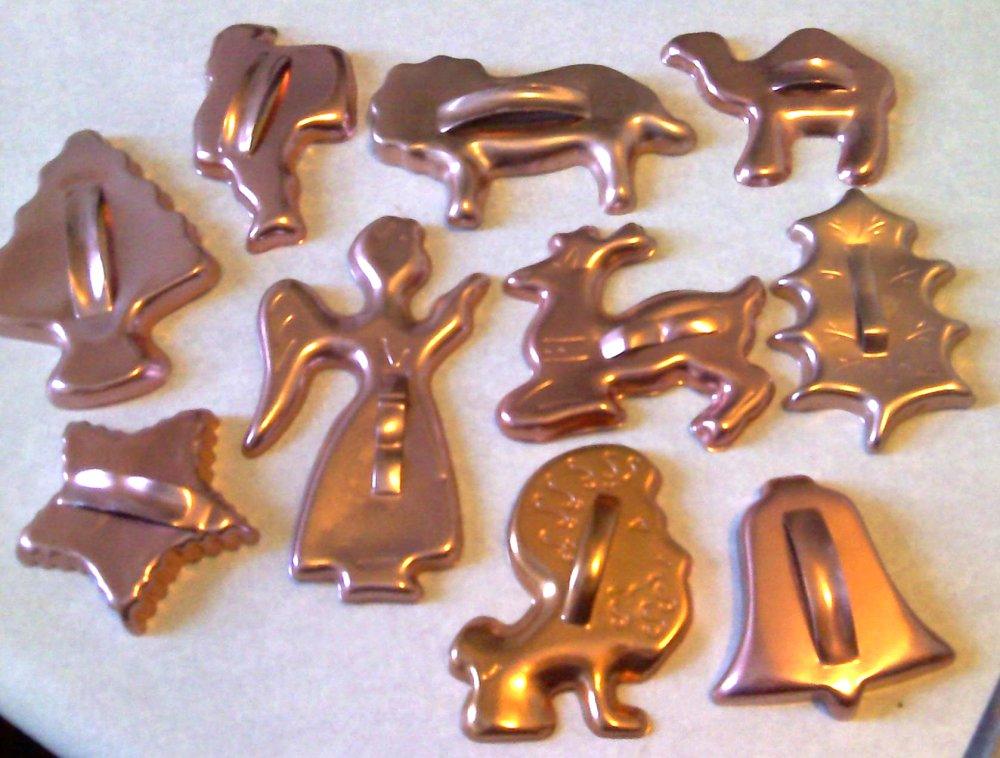 Vintage Metal Cookie Cutters