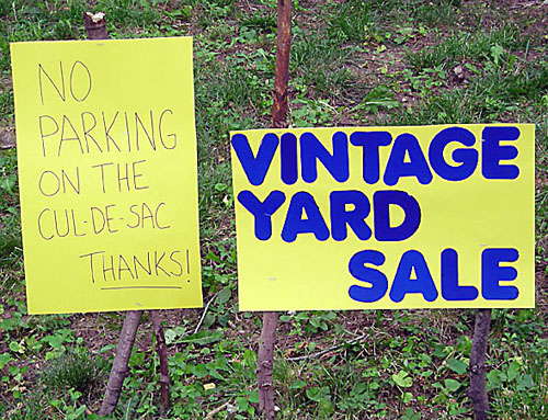 How to Go Yard Sale Shopping Like The Pros