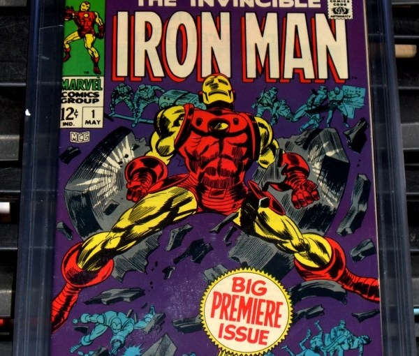 Iron Man #1 from Marvel Comics 1968