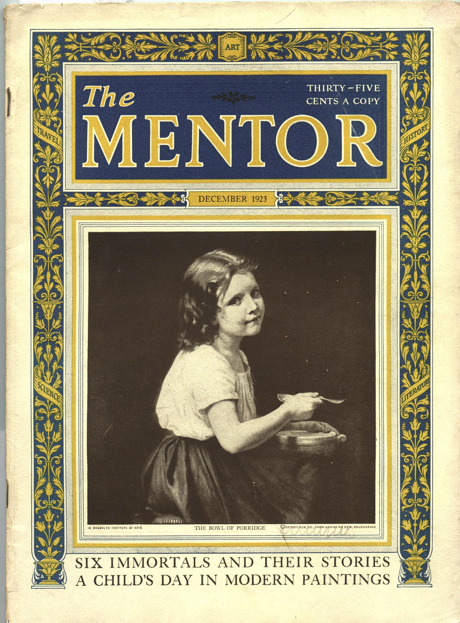 The Mentor Magazine – Inherited Values