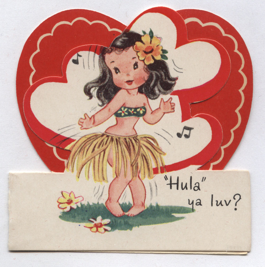 Vintage Valentines Day Greeting Cards Inherited Values – Racist Birthday Cards