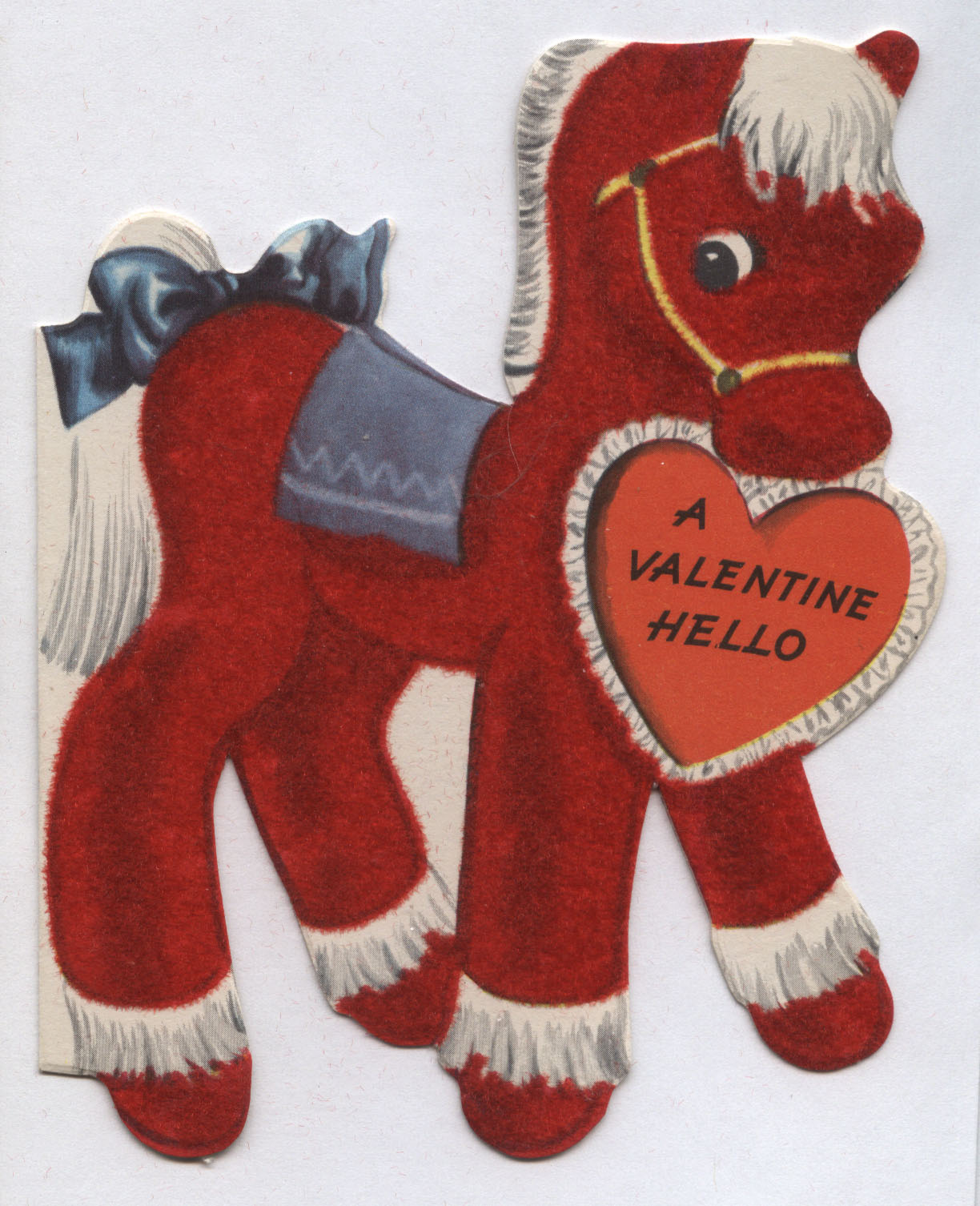 Vintage Valentines Day Greeting Cards Inherited Values – Horse Valentines Day Cards