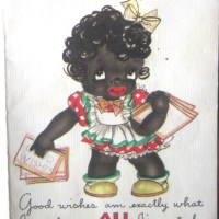 Racist Greeting Card Collecting