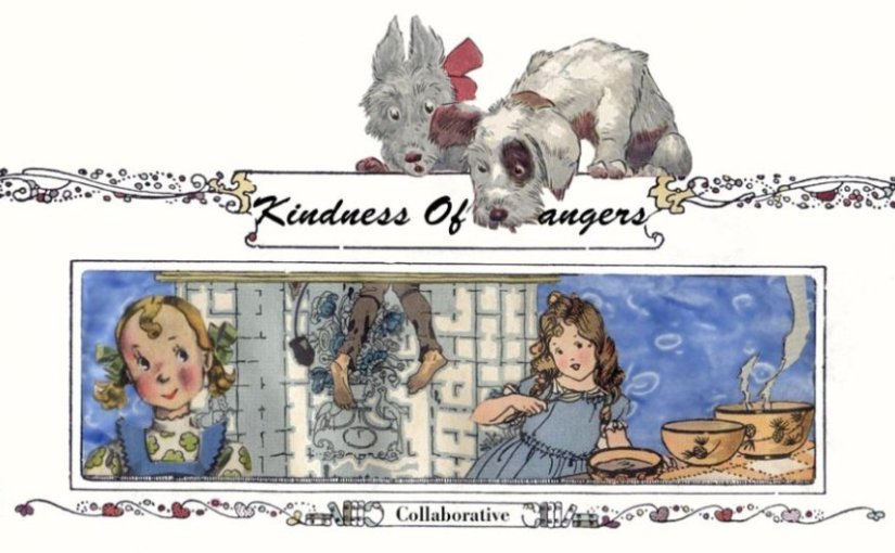 Kindness Of Strangers Altered Art Piece By Deanna Dahlsad