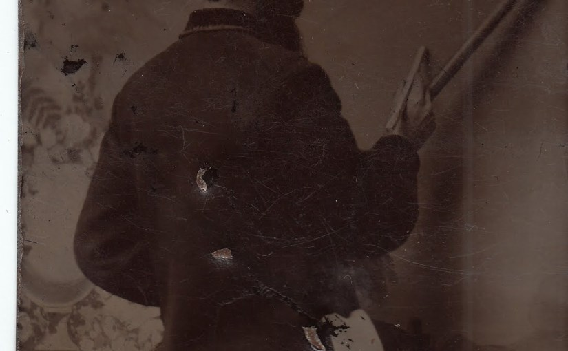Tintypes, The History Of Photography & Antique Painted Photographic Backgrounds