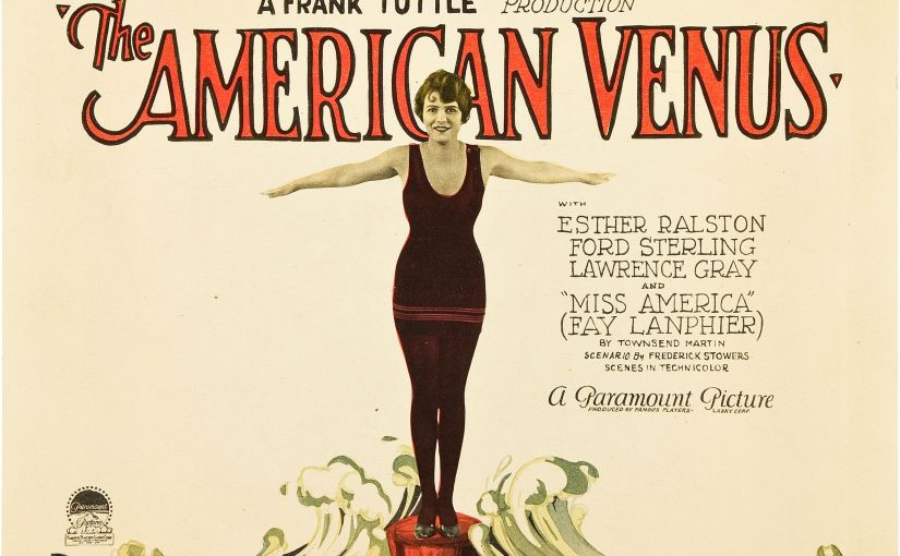 Two Lobby Cards From Lost Silent Film The American Venus