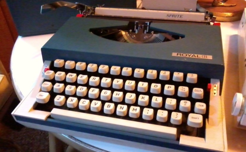 Royal Sprite typewriter