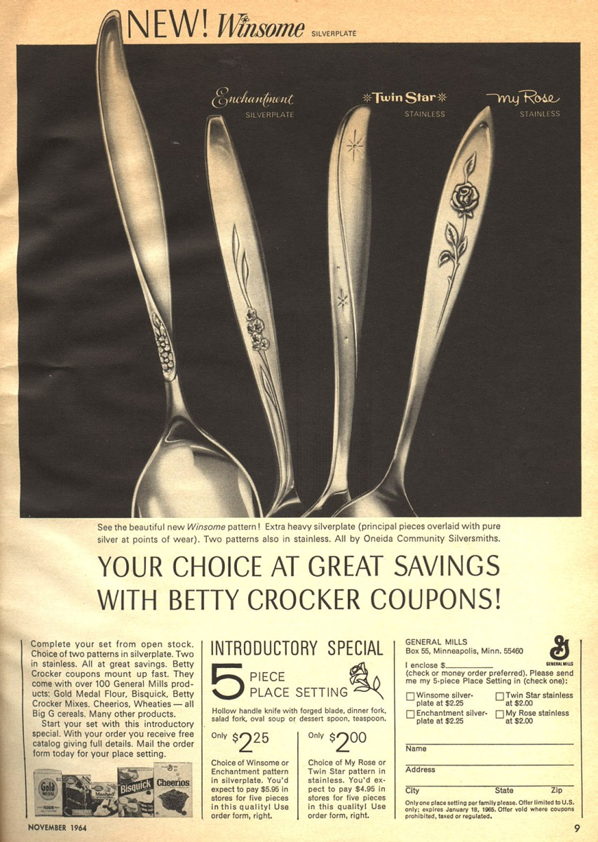 Vintage Flatware From Oneida & Betty Crocker
