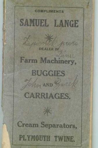 Authentic Antique Pioneer & Farm Homesteading Ephemera