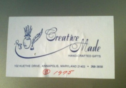 creative made label 1975