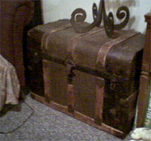 Antique Flat Top Trunks