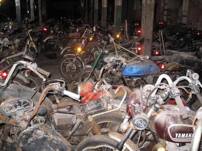 The Last Motorcycle Graveyard