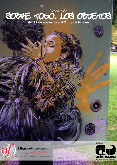 C215 Solo Show in Madrid