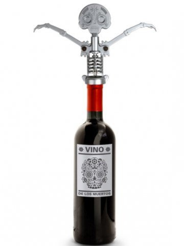 Available at INKEDSHOP.COM: Day of the Dead Corkscrew