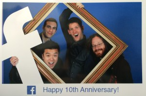 Celebrating Facebook's 10th Anniversary with Parsers Andrew Imm, Grantland Chew, and Brad Kittenbrink