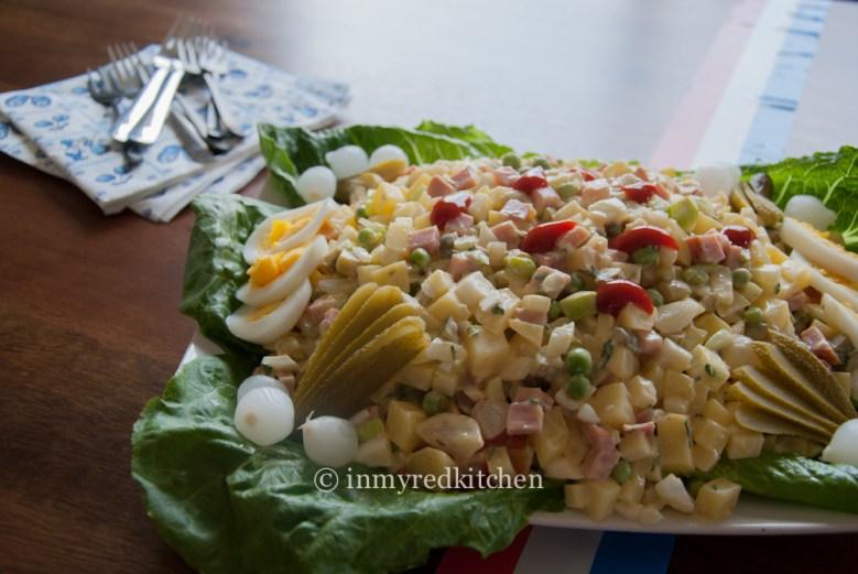 Paleo Dutch Potato Salad (Huzaren Salade)