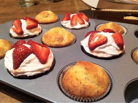 fancy lemon cakes