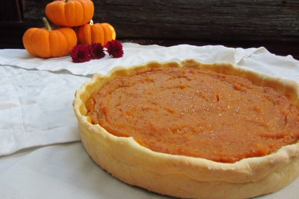 17th C. Pumpkin Pie