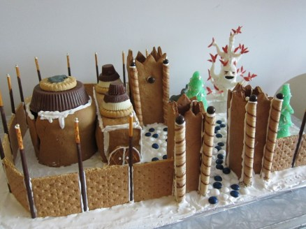 Vicky's Gingerbread Winterfell